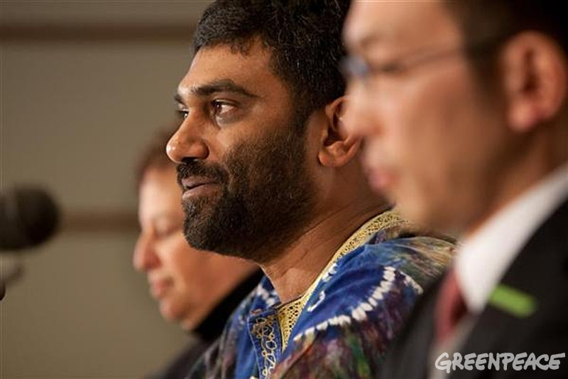 Kumi Naidoo, Exec Dir of Greenpeace International